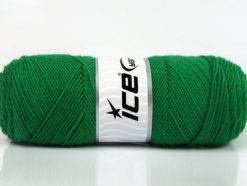 Lot of 4 x 100gr Skeins Ice Yarns BONITO (50% Wool) Hand Knitting Yarn Green