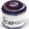 Lot of 3 x 100gr Skeins Ice Yarns CAKES BLUES Yarn Navy Lilac Maroon Grey