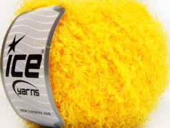 Lot of 8 Skeins Ice Yarns POLAR SOFT Hand Knitting Yarn Yellow