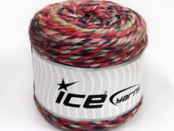 Lot of 2 x 200gr Skeins Ice Yarns CAKES WOOL CHUNKY COLORS (30% Wool) Yarn Pink Shades Mint Green Navy