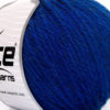 Lot of 3 x 100gr Skeins Ice Yarns SUPERBULKY WOOL (40% Wool) Yarn Blue
