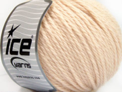 Lot of 3 x 100gr Skeins Ice Yarns SUPERBULKY WOOL (40% Wool) Yarn Light Powder Pink