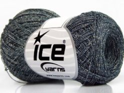 Lot of 8 Skeins Ice Yarns SALE SUMMER (90% Viscose) Yarn Dark Teal