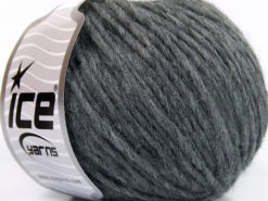 Lot of 8 Skeins Ice Yarns ETNO ALPACA (25% Alpaca 50% Merino Wool) Yarn Grey