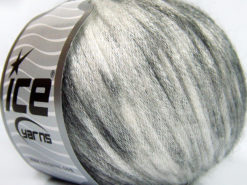 Lot of 8 Skeins Ice Yarns ROCK STAR COLOR (19% Merino Wool) Yarn Black Grey Shades