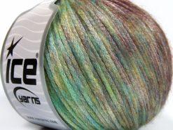 Lot of 8 Skeins Ice Yarns ROCK STAR COLOR (19% Merino Wool) Yarn Green Shades Maroon Shades