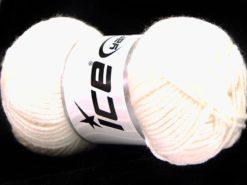Lot of 8 Skeins Ice Yarns ELITE BABY Hand Knitting Yarn Ecru