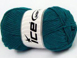 Lot of 8 Skeins Ice Yarns ELITE BABY Hand Knitting Yarn Emerald Green