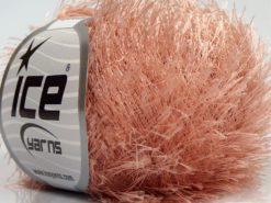 Lot of 8 Skeins Ice Yarns EYELASH Hand Knitting Yarn Powder Pink