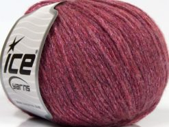 Lot of 8 Skeins Ice Yarns NIGHT STAR (17% Wool 7% Viscose) Yarn Pink