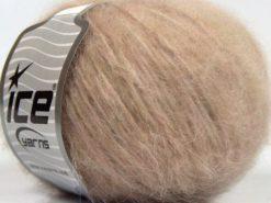 Lot of 8 Skeins Ice Yarns FLEECY WOOL (22% Wool) Yarn Powder Pink Light Camel