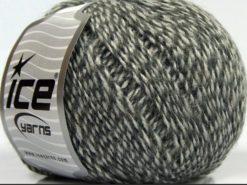 Lot of 8 Skeins Ice Yarns SALE WINTER (30% Wool) Hand Knitting Yarn Grey Shades