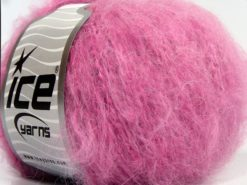Lot of 8 Skeins Ice Yarns SALE WINTER (40% Wool) Hand Knitting Yarn Pink