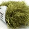 Lot of 8 Skeins Ice Yarns LONG EYELASH Hand Knitting Yarn Green