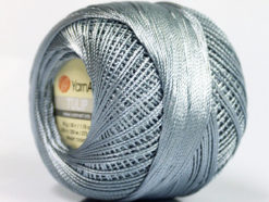 Lot of 6 Skeins YarnArt TULIP (100% MicroFiber) Hand Knitting Yarn Grey