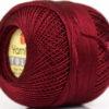 Lot of 6 Skeins YarnArt TULIP (100% MicroFiber) Hand Knitting Yarn Burgundy