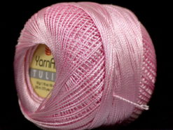 Lot of 6 Skeins YarnArt TULIP (100% MicroFiber) Hand Knitting Yarn Pink