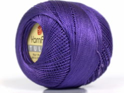 Lot of 6 Skeins YarnArt TULIP (100% MicroFiber) Hand Knitting Yarn Purple
