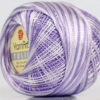 Lot of 6 Skeins YarnArt TULIP (100% MicroFiber) Hand Knitting Yarn Lilac White
