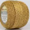Lot of 10 Skeins YarnArt CAMELLIA (30% Metallic) Yarn Light Brown Gold