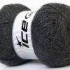 Lot of 4 x 100gr Skeins Ice Yarns MERINO GOLD (60% Merino Wool) Yarn Dark Grey