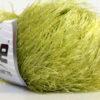 Lot of 8 Skeins Ice Yarns EYELASH Hand Knitting Yarn Green