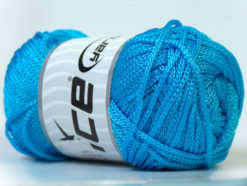 Lot of 4 x 100gr Skeins Ice Yarns MACRAME CORD Hand Knitting Yarn Turquoise