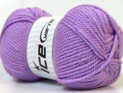 Lot of 4 x 100gr Skeins Ice Yarns Bulky ATLAS Hand Knitting Yarn Lilac