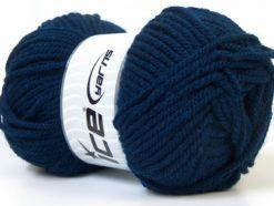 Lot of 4 x 100gr Skeins Ice Yarns Bulky ATLAS Hand Knitting Yarn Navy