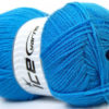 Lot of 4 x 100gr Skeins Ice Yarns SUPER BABY Hand Knitting Yarn Blue