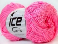 Lot of 10 Skeins Ice Yarns ETAMIN Hand Knitting Yarn Pink