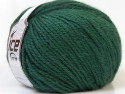 Lot of 4 x 100gr Skeins Ice Yarns ALPACA BULKY (25% Alpaca 35% Wool) Yarn Dark Teal