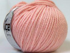Lot of 4 x 100gr Skeins Ice Yarns ALPACA BULKY (25% Alpaca 35% Wool) Yarn Light Pink