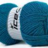 Lot of 4 x 100gr Skeins Ice Yarns ZERDA ALPACA (30% Alpaca 70% Dralon) Yarn Blue