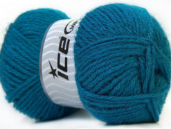 Lot of 4 x 100gr Skeins Ice Yarns ZERDA ALPACA (30% Alpaca 70% Dralon) Yarn Blue