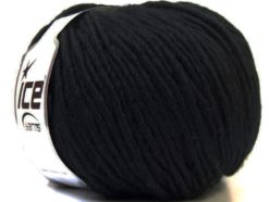 Lot of 4 x 100gr Skeins Ice Yarns FILZY WOOL (100% Wool) Yarn Black
