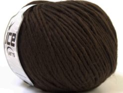 Lot of 4 x 100gr Skeins Ice Yarns FILZY WOOL (100% Wool) Yarn Brown