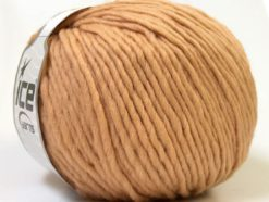 Lot of 4 x 100gr Skeins Ice Yarns FILZY WOOL (100% Wool) Yarn Light Brown