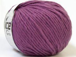 Lot of 4 x 100gr Skeins Ice Yarns FILZY WOOL (100% Wool) Yarn Orchid