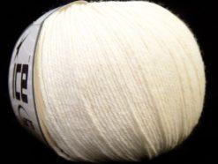 Lot of 6 Skeins Ice Yarns BABY MERINO (40% Merino Wool) Yarn White