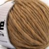 Lot of 4 x 100gr Skeins Ice Yarns PURE WOOL SUPERBULKY (100% Australian Wool) Yarn Light Camel