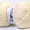 Lot of 2 x 150gr Skeins Ice Yarns SuperBulky ALPINE ALPACA (30% Alpaca 10% Wool) Yarn Cream