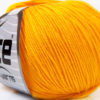 Lot of 8 Skeins Ice Yarns BABY SUMMER (60% Cotton) Hand Knitting Yarn Yellow