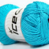 Lot of 4 x 100gr Skeins Ice Yarns BABY ANTIBACTERIAL (100% Antibacterial Dralon) Yarn Turquoise