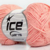 Lot of 8 Skeins Ice Yarns COTTON BAMBOO (50% Bamboo 50% Cotton) Yarn Light Salmon
