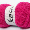 Lot of 4 x 100gr Skeins Ice Yarns PUFFY (100% MicroFiber) Yarn Fuchsia
