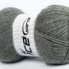 Lot of 4 x 100gr Skeins Ice Yarns VIRGIN WOOL DELUXE (100% Virgin Wool) Yarn Grey