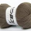Lot of 4 x 100gr Skeins Ice Yarns VIRGIN WOOL DELUXE (100% Virgin Wool) Yarn Camel