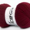 Lot of 4 x 100gr Skeins Ice Yarns VIRGIN WOOL DELUXE (100% Virgin Wool) Yarn Burgundy