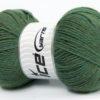 Lot of 4 x 100gr Skeins Ice Yarns VIRGIN WOOL DELUXE (100% Virgin Wool) Yarn Khaki Melange